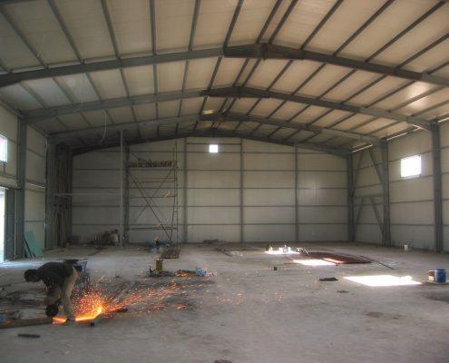 Depo ve İdari Bina İnşaatı - UNIFREE - DutyFree - Antalya