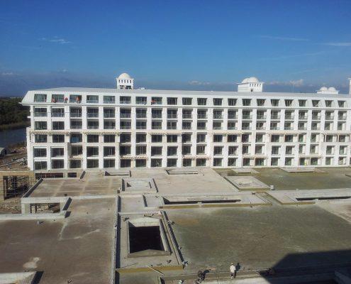 Otel İnşaatı - TİTANİK OTEL KADRİYE