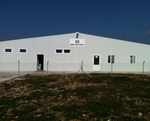 Tarım Alanı Yapımı - HISHTIL - TOROS FİDECİLİK